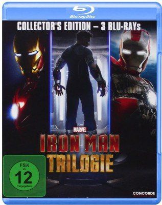 Iron Man Trilogie (Blu ray) ab 9,97€