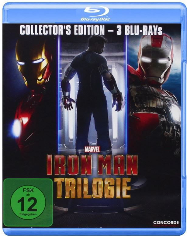 IRONMAN Iron Man Trilogie (Blu ray) ab 8,99€