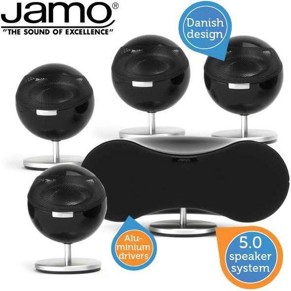 Jamo JAMO 360 SERIES S 35 HCS   stylishes 5.0 Lautsprecher Set statt 729€ für 308,90€