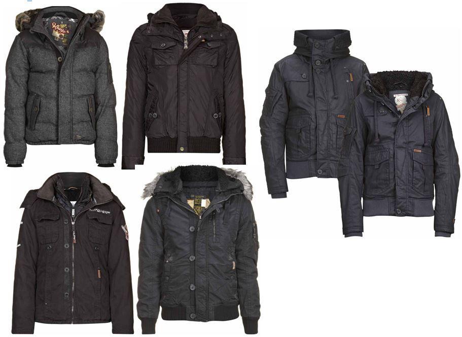 Khujo1 KHUJO Jacken & Mäntel für Damen und Herren versch. Modelle für je 64,90€   Update