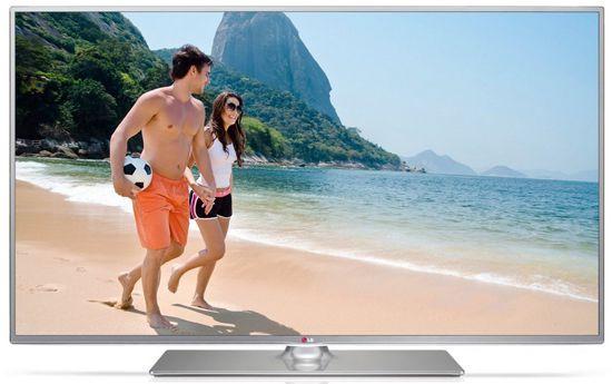 LG 50LB650V   50 Zoll 3D LED Fernseher (Full HD, 500Hz MCI, Triple Tuner, WLAN) für 562,17€