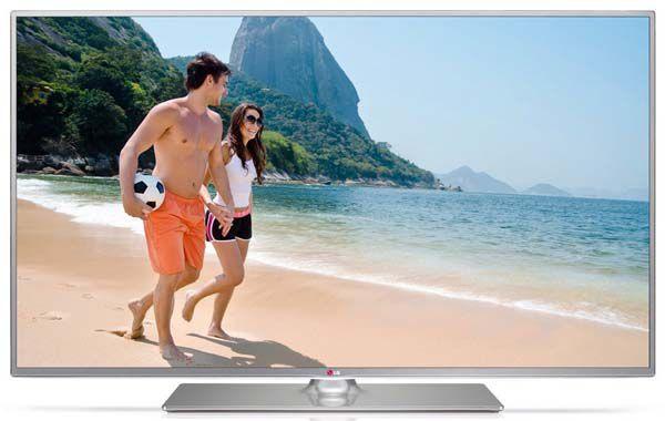 LG 60LB650V   60 Zoll 3D LED Fernseher mit WLAN, Triple Tuner und 2x 3D Brillen für 899,99€