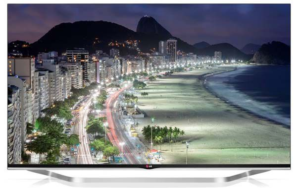 LG 65LB730V LG 65LB730V   65 Zoll 3D Full HD Fernseher mit WLAN und 3D Brillen für 1.550€