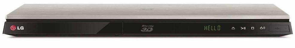 LG Network 3D Blu ray LG BP630S   3D Blu ray Player mit WLAN und HDMI für 79€