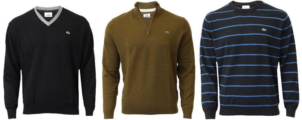 Lacoste   Herren Pullover verschiedene Modelle für je 49,90€   Update!
