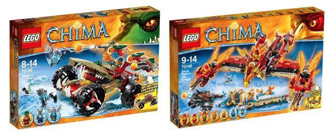 Lego Chima Artikel 50% Rabatt auf den zweiten Lego Chima Artikel bei ToysRUs