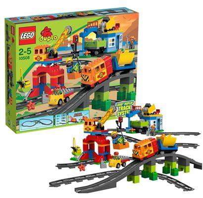 Lego Duplo 10508   Eisenbahn Super Set für 79,99€