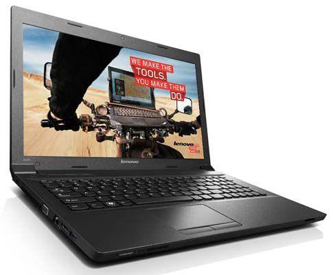 Lenovo B590 MBX3TGE   15,6 Zoll Notebook (i3 3110M, 4GB RAM, 500GB, Win7) für 399,90€