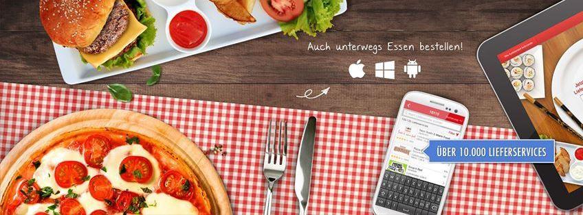Lieferando Lieferando mit 15% Rabatt bei Bestellungen per App für Neu & Bestandskunden