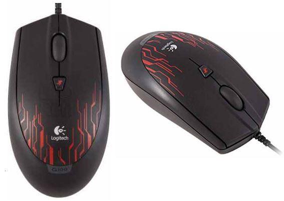 Logitech Logitech G100   optische Laser Gaming Mouse für 12,99€ inkl. Versand