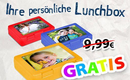 Frühstücksbox mit eigenem Motiv für 4,95€