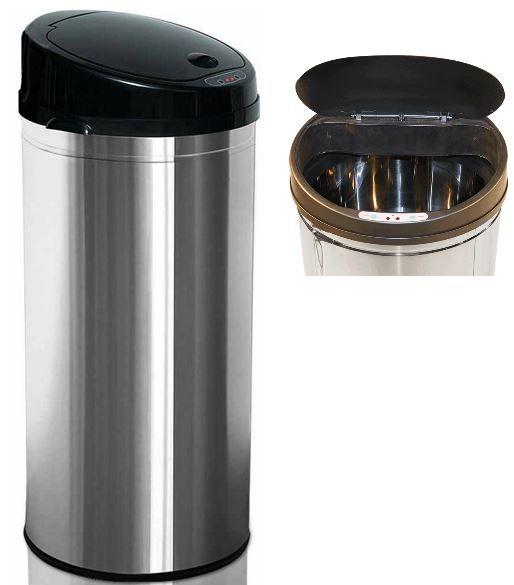 NoName 56L Mülleimer mit Sensor zum automatischen öffnen für 33€