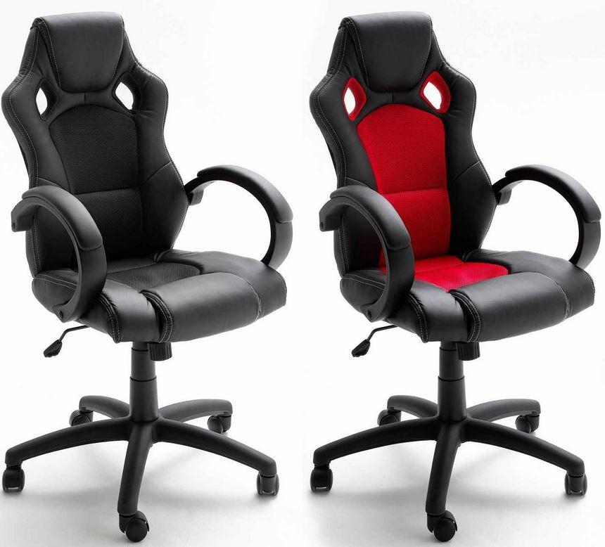 MCA Chefsessel MCA Rocco   Bürostuhl in Racer Optik für 69€ inkl. Versand