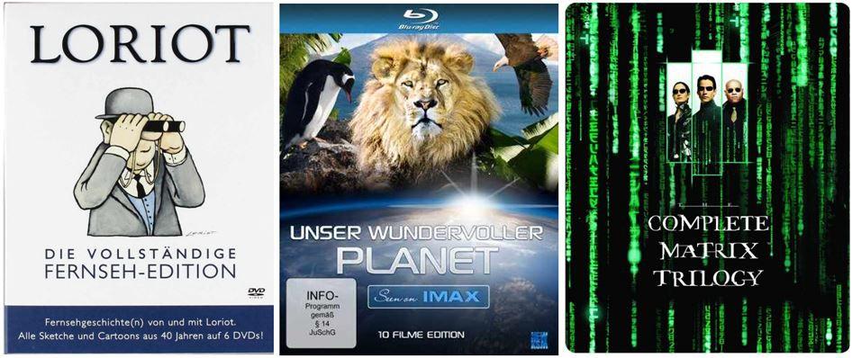 Stieg Larsson   Millennium Trilogie ab 12,97€ und 281weitere Amazon DVD und Blu ray Angebote der Woche