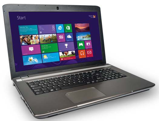 Medion Akoya E7227 (MD 98747)   17 Zoll Notebook (i5, 8GB, 1TB, Windows 8.1) für 499€