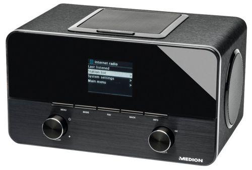 Medion LIFE P85025   WLAN Internetradio mit DAB+ für 94,95€