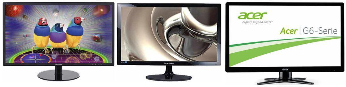 Monitore ViewSonic VX2209 und andere Monitore bei den 23 Amazon Blitzangeboten
