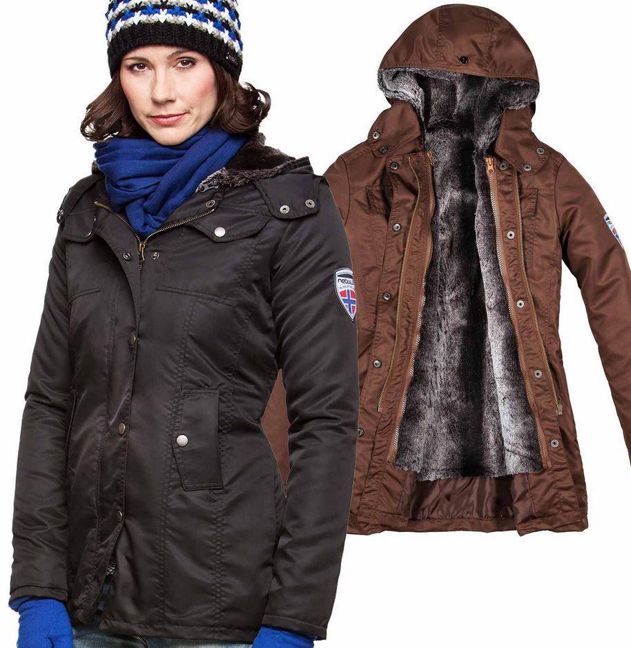 Nebulus Clinton Nebulus Clinton   gefütterte Damen Jacken in 2 Modellen für je 49,90€