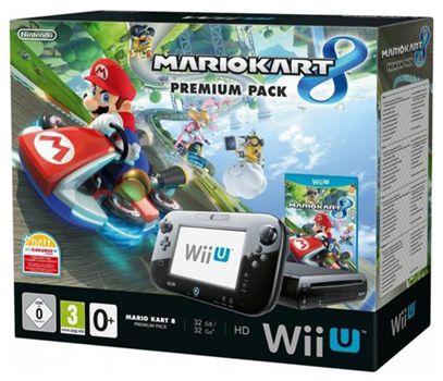 Nintendo Wii U Premium Pack Nintendo Wii U Premium Pack + Mario Kart 8 für 234,33€   Update