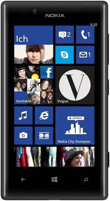 Nokia Lumia 720 Nokia Lumia 720 (8GB, Demoware, kein Simlock) für 129€