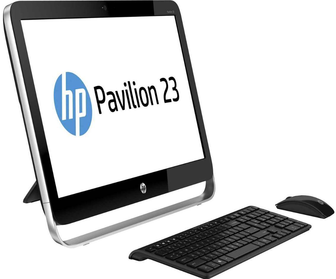 HP Pavilion 23 g002eg   23Zoll All in One Desktop PC mit i3 CPU und 1TB Festplatte für 499€ und mehr HP Angebote