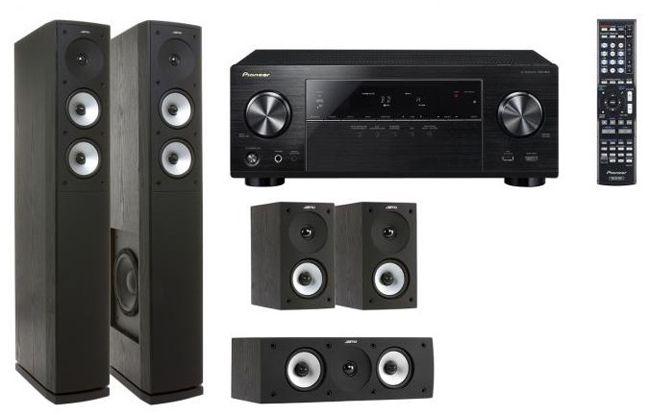 Pioneer VSX 824 K S 626 HCS 3 ES Pioneer VSX 824 K 5.2 AV Receiver + Jamo S 626 HCS 3 Heimkinosystem (statt 724€) für 549€   Update