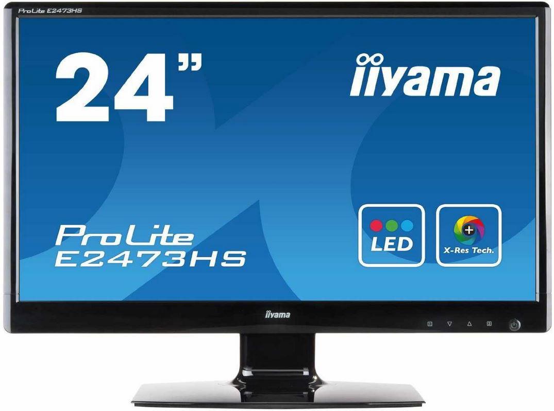 iiyama ProLite E2473HS   24 Zoll widescreen TFT Monitor 2ms Reaktionszeit ab 102,28€ + kostenloser WMF Pfanne   Update!