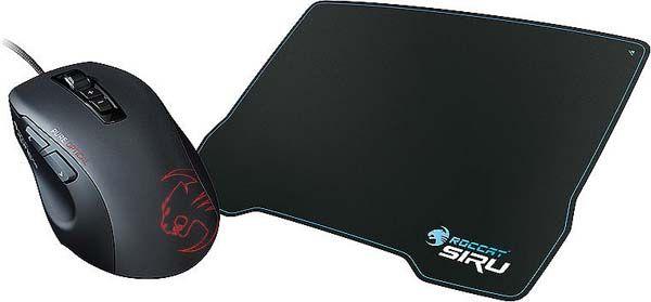 Roccat Kone Pure Gaming Maus + Roccat Siru Gaming Pad für 39,99€ (statt 85€)