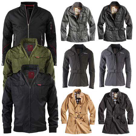 SURPLUS Raw Vintage Military und Trenchcoat Jacken für Damen und Herren für je 29,90€