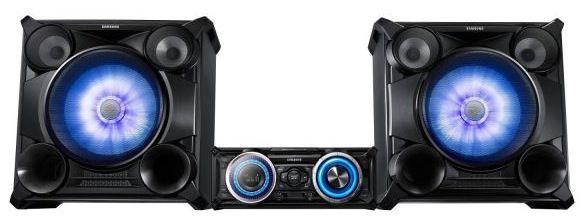 Samsung MX HS8000 Audiosystem (2.300 Watt, Bluetooth, Partyfunktion, CD, USB) für 444€
