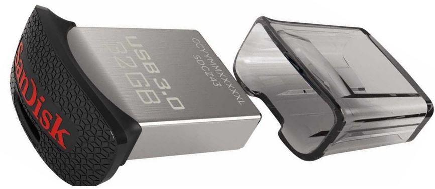 SanDisk Ultra Fit   32 GB USB3 Stick bis zu 150MB/s für 7€