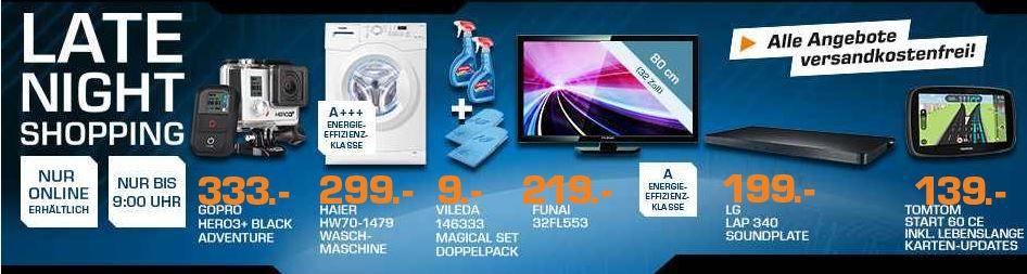 FUNAI 32FL553/10N   32 zoll TV für 199€ – und mehr Saturn Late Night Sale Angebote