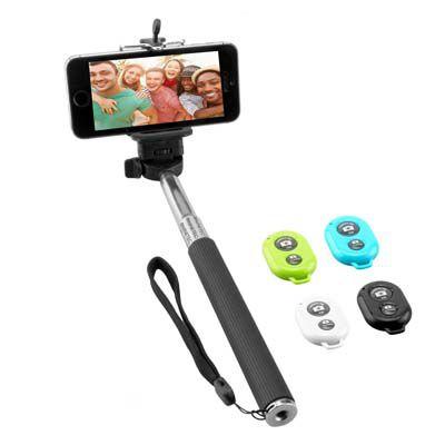Selfiestick Ninetec Picturesmart Bluetooth SelfieMaker für Android und iOS für 14,99€
