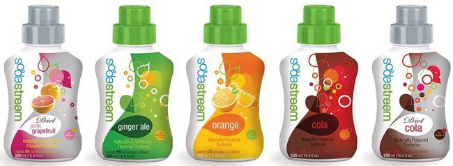 SodaStream Getränkesirup in verschiedenen Geschmacksrichtungen für je 2,79€