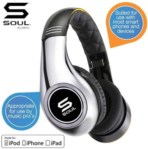 Soul Soul by Ludacris Audio SL300 over Ear Kopfhörer – Cesc Fabregas Special Edition für 75,90€
