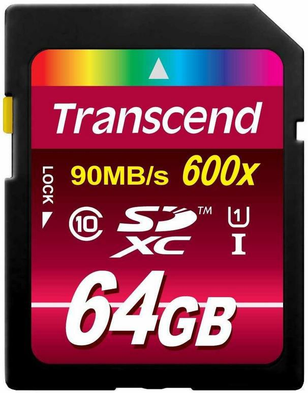 Speicherkarte Transcend UltimateSpeed   64GB SDXC Speicher Karte Class 10 für 29,90€   Update