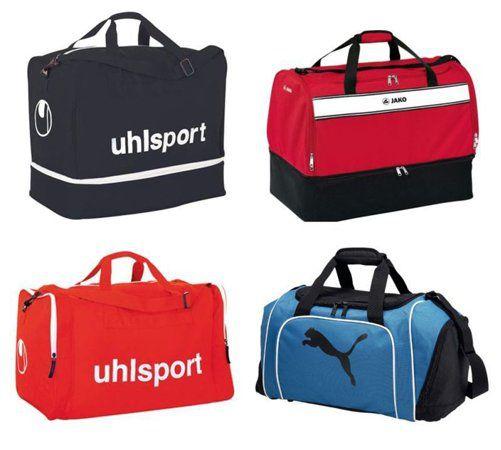 Sporttaschen und Rucksäcke von Puma, Uhlsport und Jako ab 9,95€