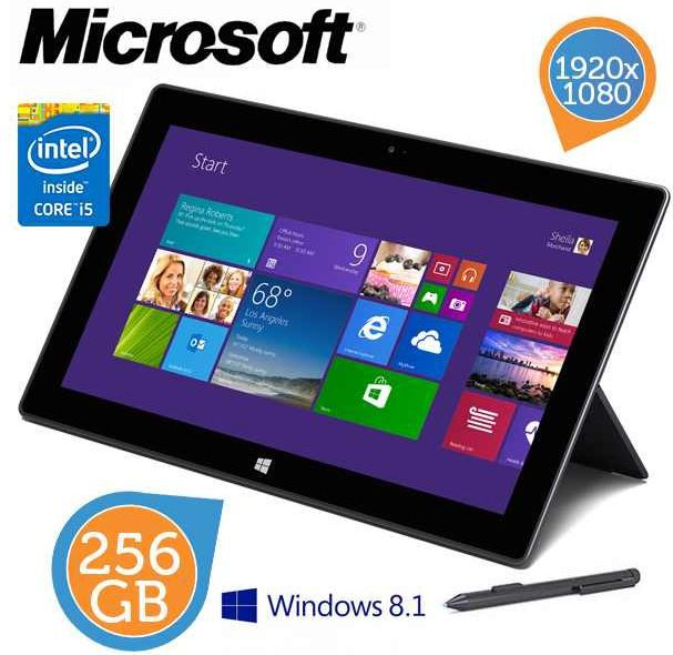 Surface Microsoft Surface Pro 2   Intel Dual Core i5 und 256 GB SSD staatt 794€ für 525,90€   Top!