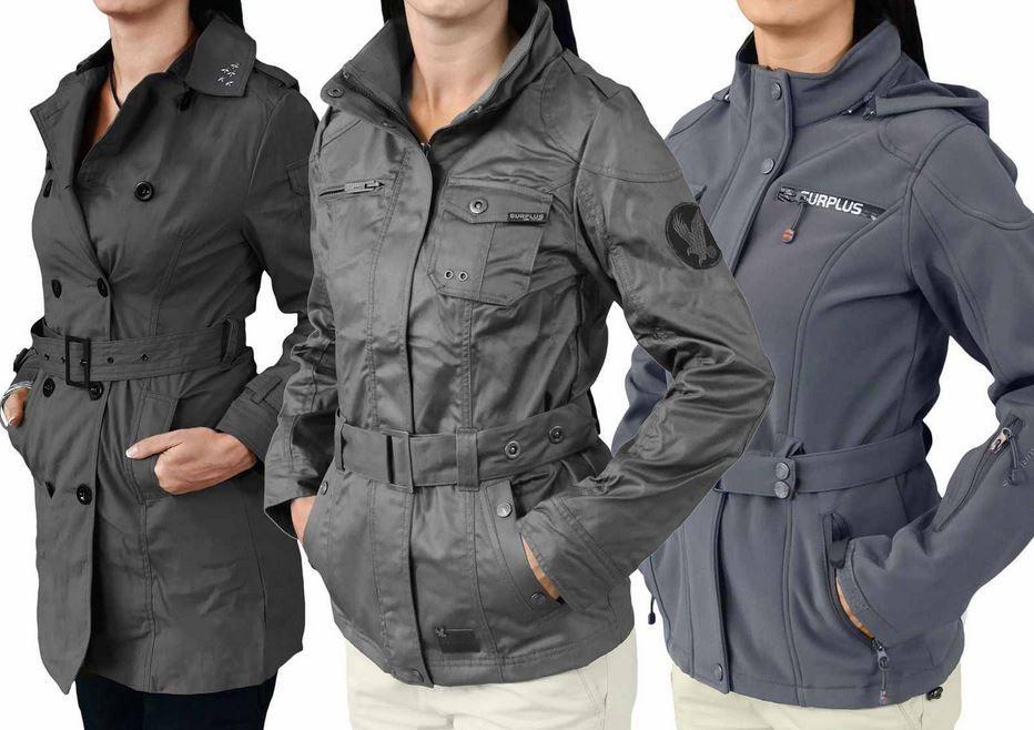 # SURPLUS   Top Damen Raw Vintage Armored Jacken und Trenchcoats für inkl. Versand nur 16,90€   Update