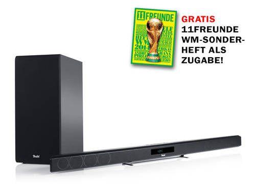 Teufel Cinebar 11 Teufel Cinebar 11   2.1 Soundbar mit kabellosem, starkem 90 Watt Subwoofer für 278,99€