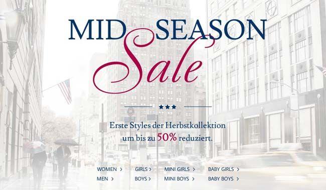Tom Tailor Mid Season Sale mit Rabatten bis zu 50% + 20€ Extra Rabatt ab 100€   Update
