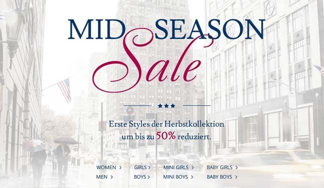 Tom Tailor Mid Season Sale Tom Tailor Mid Season Sale mit Rabatten bis zu 50% + 20€ Extra Rabatt ab 100€   Update