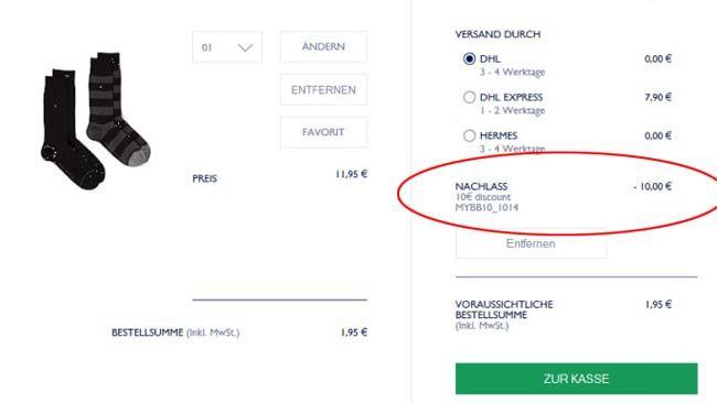 Schnell! 10€ Gutschein für Tommy Hilfiger mit nur 10€ MBW