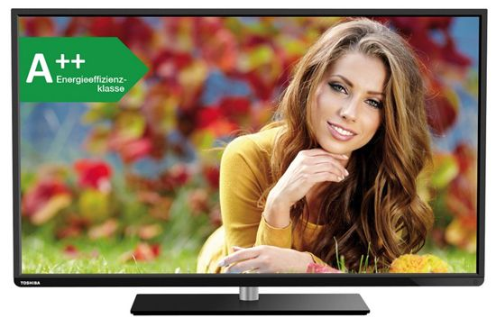 Toshiba 48L3441DG Toshiba 48L3441DG   48 Zoll TV mit WLAN und Triple Tuner für 379€