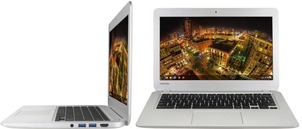 Toshiba CB30 102   Chromebook mit 16GB und bis 9 Std. Laufzeit statt 263€ für 222€ inkl. Versand