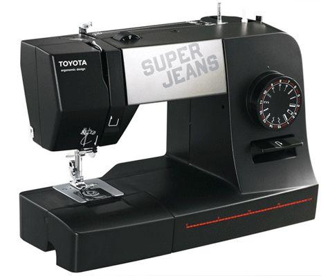 Toyota Super Jeans J15 Nähmaschine für 129,99€