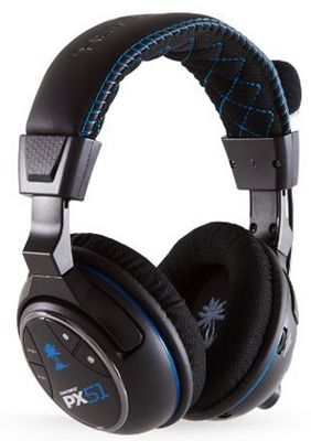 Turtle Beach Ear Force PX51 Turtle Beach Ear Force PX51 Wireless Headset (PS4, PS3, Xbox 360) für 99,99€ (statt 177€)