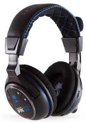 Turtle Beach Ear Force PX51 Wireless Headset (PS4, PS3, Xbox 360) für 99,99€ (statt 177€)