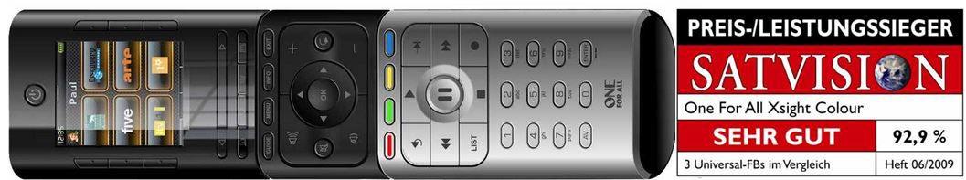 OneForAll URC 8602 Xsight   Colour Fernbedienung statt 55€ für 27,99€