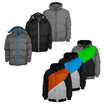 Urban Classics Herren Winterjacken Urban Classics Herren Winterjacken in 7 verschiedenen Modellen für jeweils 34,90€